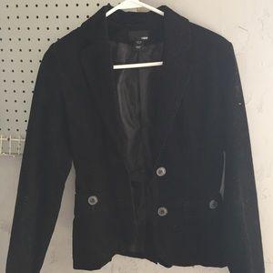 Black corduroy H&M blazer size 4